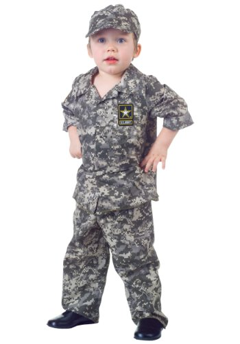 U.S. Army Camo Halloween Costume Set For Toddlers