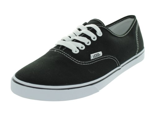 Vans Unisex VANS AUTHENTIC LO PRO SKATE SHOES 7.5 Men US / 9 Women US ( BLACK/TRUE WHITE )