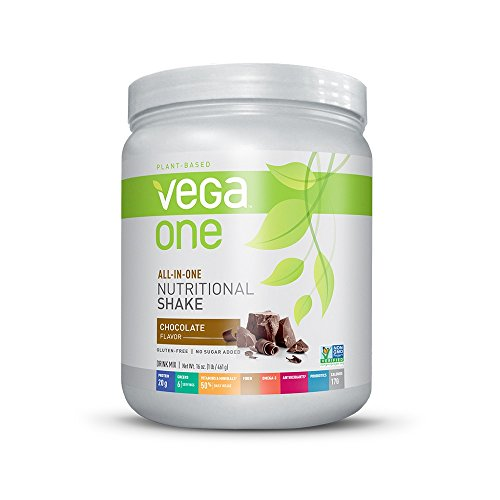 Vega One All-in-One Nutritional Shake, Chocolate, 16 Ounce