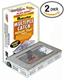 Victor or Catchmaster Tin Cat Clear Top (2 Pack)
