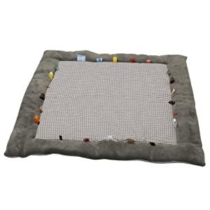 Shreds Snoozebaby Special Editions Organic Cheerful Playing Playing Cloth (Hippo Grey)