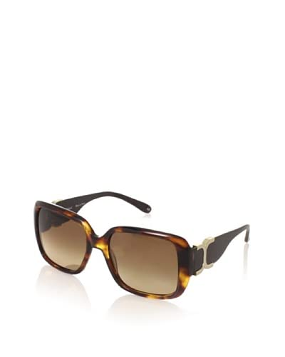 Chloe Women's Marcie Sunglasses, Dark Tortoise, One Size