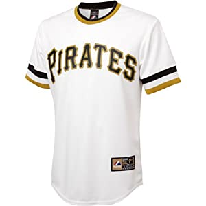 Andrew Mccutchen Jersey: Alternate Optic White #22 Pittsburgh Pirates Replica Jersey by Majestic