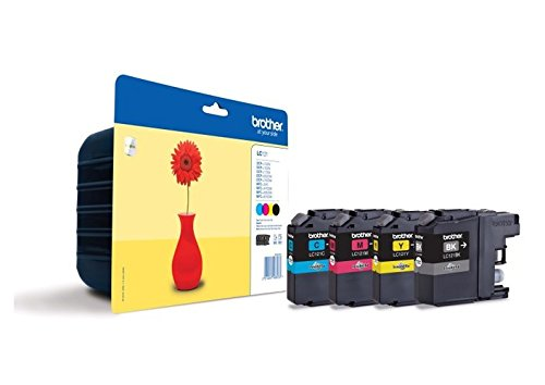 Brother LC-121 4 PACK _[LC121VALBP]_M Inkjet / getto d'inchiostro Cartuccia originale