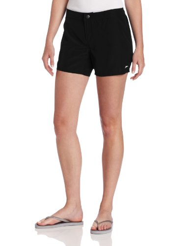 Speedo Women's Active Boardshort Coverup  Zip