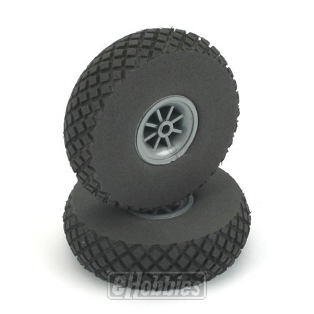 "Du-Bro 300DL 3"" Diamond Lite Wheel (2-Pack)"