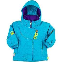 Obermeyer Karma Jacket - Toddler Girls\' Glacier Blue, 4T
