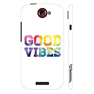 HTC ONE S Good Vibes designer mobile hard shell case by Enthopia