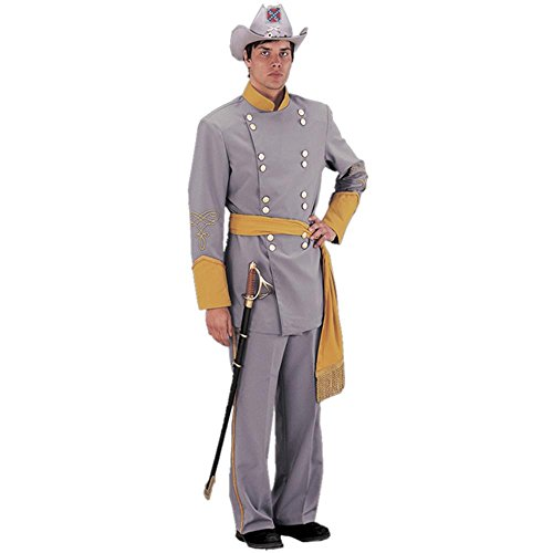 Adult Authentic Confederate Officer Civil War Costume (Size: X-Large)