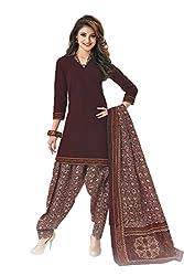 Gugaliya Women's Unstiched Superior Cotton FASHION SALWAR,KAMEEZ & DUPATTA Suit ( P524 )