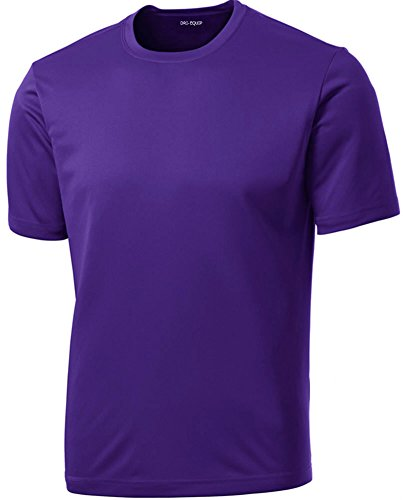 Dri-Equip(tm) Youth Athletic All Sport Training Tee Shirt,L-Purple (Personal Training Shirts compare prices)