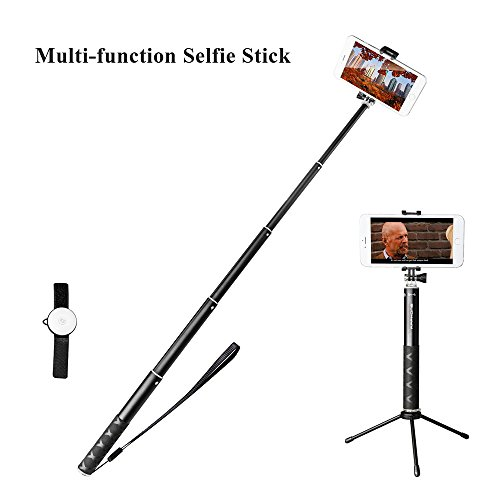 sinvitron ultra light aluminium selfie stick with tripod quicksnap pro self portrait monopod. Black Bedroom Furniture Sets. Home Design Ideas