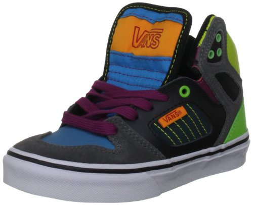 Vans Unisex Allred Black/Multi Fashion Trainer VQEQ7L4 1.5 UK Junior