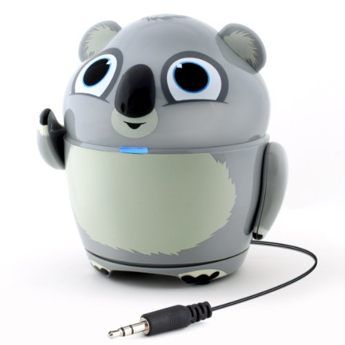 GOgroove Groove Pal Koala Kid-Friendly Animal Speaker w/ Rechargeable Battery & Portable Design for Smartphones , Tablets , MP3 Players & More