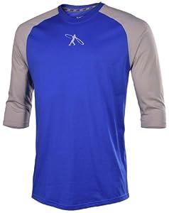 Nike Swingman 3 4 Sleeve Baseball Mens Shirt by Nike