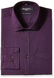 Dennison Men's Formal Shirt (SS-16-382_Purple_44)