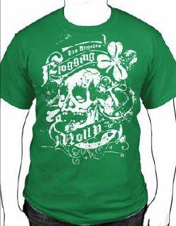 Flogging Molly - T-shirt da uomo, verde(green), S