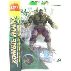 Marvel Zombies Incredible Green Hulk action figures (Marvel Select) toys