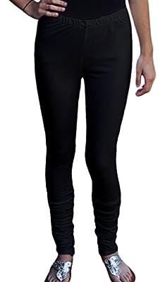 Ayurvastram Women's Cotton Jersey Long Leggings