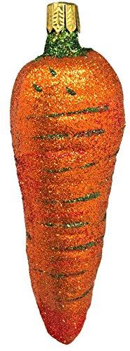 Carrot Vegetable Christmas Tree Ornament