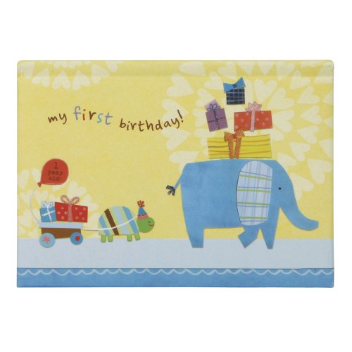 C.R. Gibson Pop Up Brag Book, First Birthday (Discontinued by Manufacturer) (Discontinued by Manufacturer)