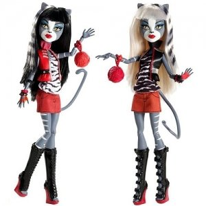 Product Image: Exclusive Monster High Werecat Sister Doll Pack - Meowlody and Purrsephone
