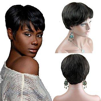 Dreambeauty Human Wigs Short 100% Natural Hair Wigs for Women