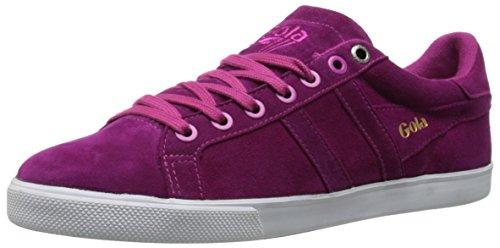 Gola Women's Orchid Fashion Sneaker, Dark Berry, 7 M US