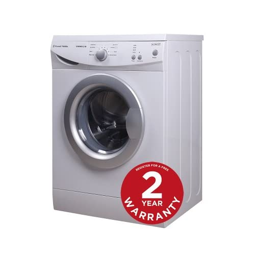Russell Hobbs RHWM612-M 6kg 1200 spin White Washing Machine - Free 2 Year Warranty*
