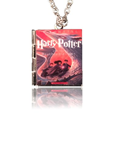 Harry Potter and the Deathly Hallows Tiny Book Charm, and Locket Necklace. J. K. Rowling