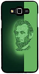 PrintVisa Abstract Lincoln Face Case Cover for Samsung Galaxy Grand Max (Multicolour)