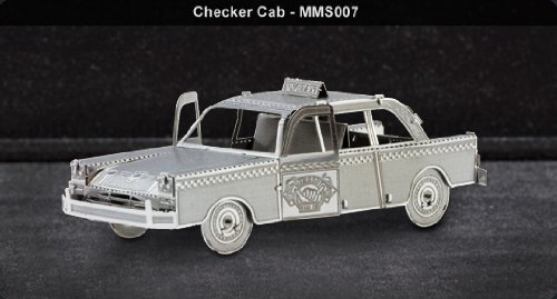 New! Amazing Metal Marvel Of The Checker Cab-MMS007 - 1
