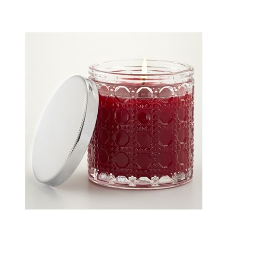 Aromatique The Smell of Christmas Candle in Crystal Glass with Lid
