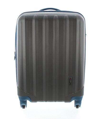 100-ABS-Hartschalen-Koffer-Trolley-mit-4-Rollen-und-Zahlenschloss-Pianeta-Serie-Ibiza-XL-75cm-Anthrazit