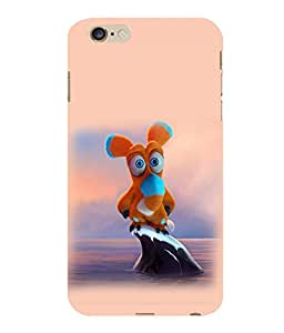 printtech Soft Toy Cartoon Back Case Cover for Apple iPhone 6 Plus