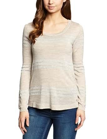 EMU Australia Sarabah Wrap Women's T-Shirt Sand Marle Medium