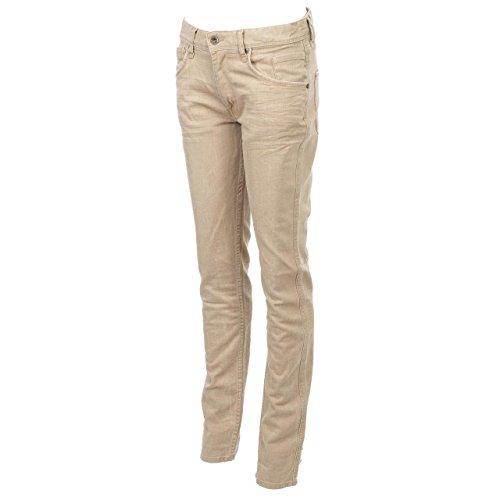 Teddy smith Ramy beige jr pant-Pantaloni jeans beige 16 anni