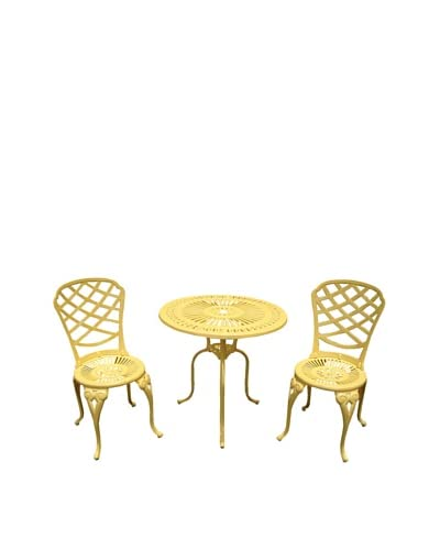 Hansen Bradford Café Set, Yellow