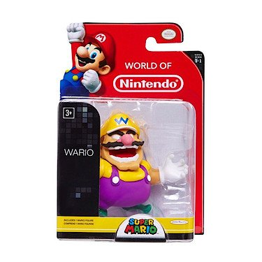 "World of Nintendo 3"" Wario Figure (Series 1-1) - 1"