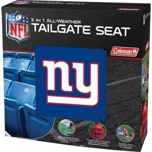 York Giants NFL 3 in 1 All-Weather Tailgate Seat and Poncho