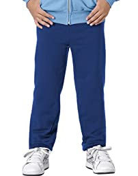 Hanes Youth Comfortblend Ecosmart Fleece Pant (Deep Royal) (XS)