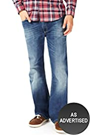 North Coast Front Pocket Bootcut Denim Jeans