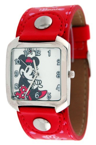 Disney Minnie Mouse Red Band Watch #23935