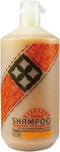 Alaffia - EveryDay Shea - Moisturizing Shea Butter Shampoo, Vanilla-Mint - 32 oz