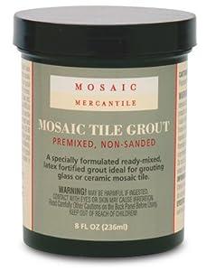 Mosaic Mercantile 16-Ounce Premixed Black Grout