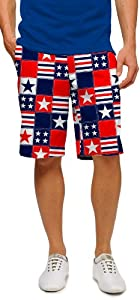 Loudmouth Mens Betsy Ross Shorts by Loudmouth