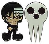 Soul Eater: Kid and Shinigami-sama Pins (Set of 2)