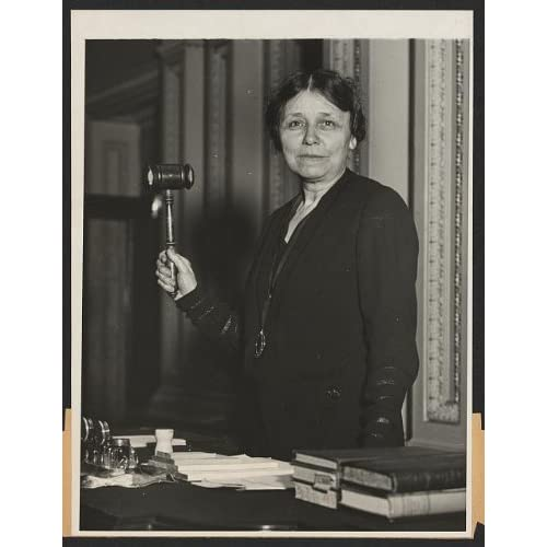 Amazon.com: Photo: Woman, Senator, Hattie Wyatt Caraway, gavel