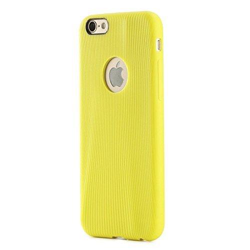 """ROCK """"Melody"""" iPhone 6 (4.7"""") Involucro protettivo, Borsa ,Involucro, Cassa del telefono mobile per iPhone 6 Copertina posteriore - giallo-verde"""