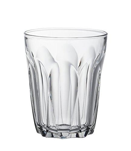 Duralex Provence verre à eau 250ml, sans repère de remplissage, 6 verres
